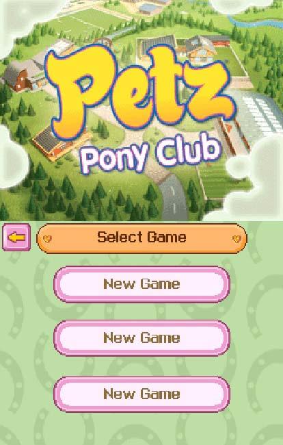 pony club spiele