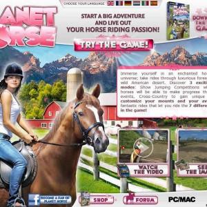 Planet Horse-Pferdespiel